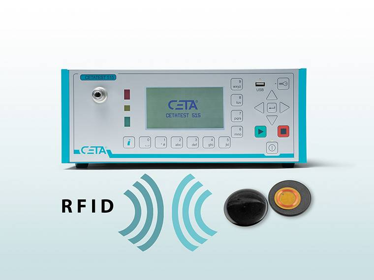 CETA Testsysteme GmbH is testing the leak tightness of RFID transponders in the production process