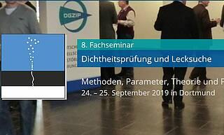 DGZfP Dichteitsprüfung und Lecksuche, Fachseminar