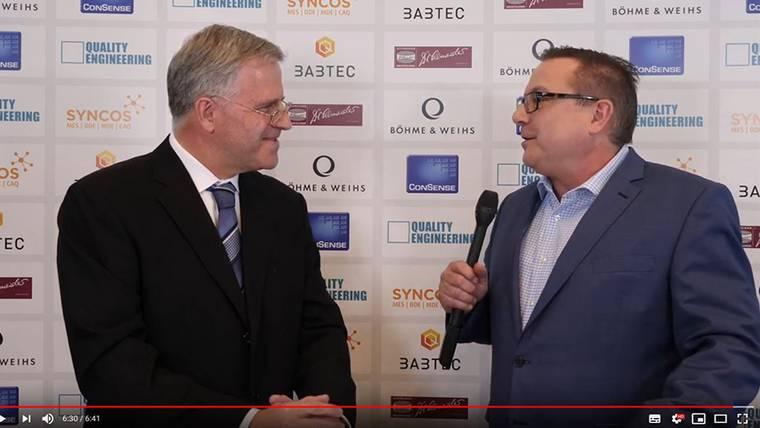 Interview mit Dr. Lapsien, CETA Testsysteme auf der Control 2019