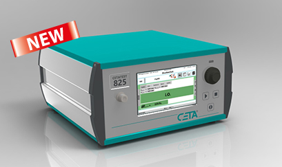 New: Differential pressure leak tester CETATEST 825