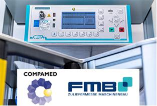 CETA und Gaedigk erfolgreich zusammen auf FMB und COMPAMED